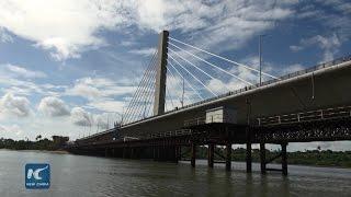 Chinese built 135mln bridge opens in Tanzania