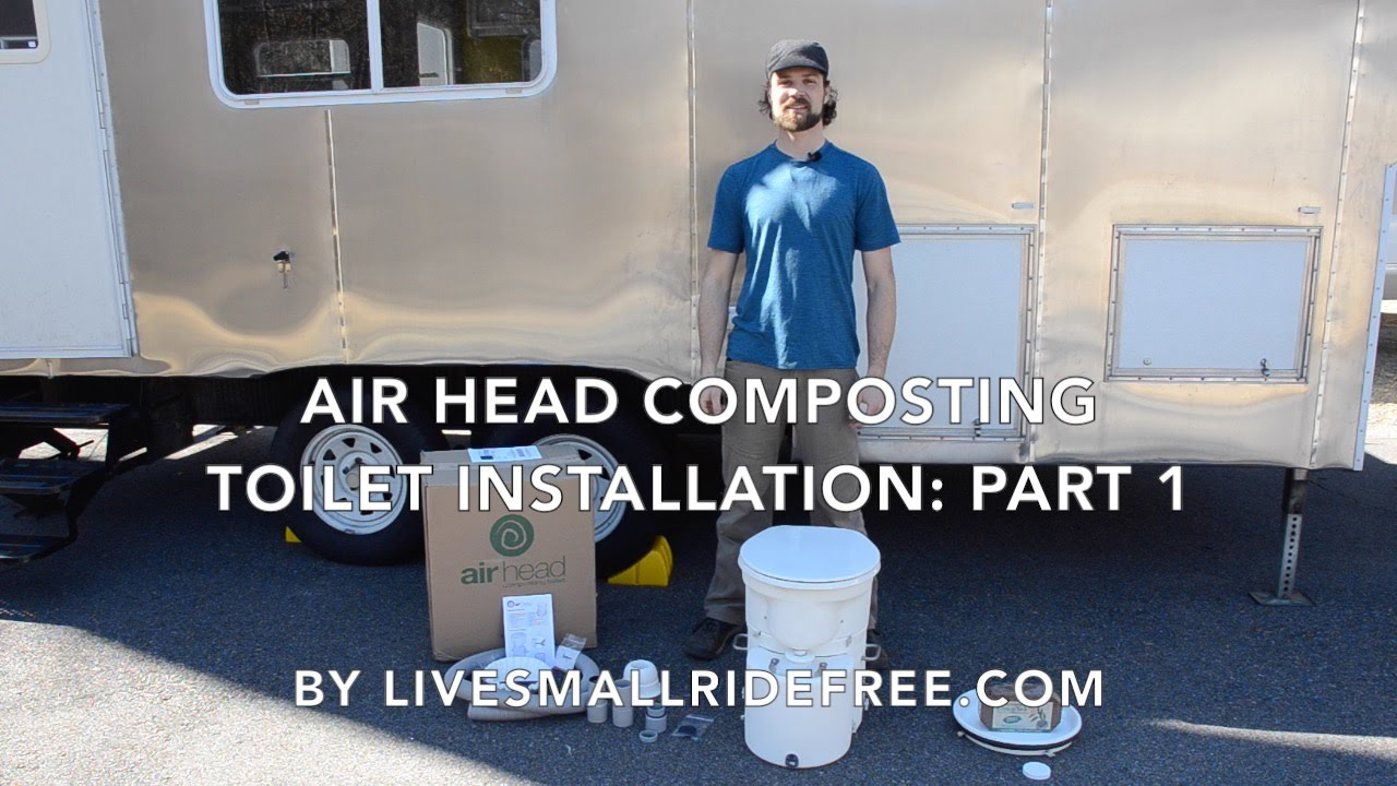 """Real DIY RV """"Air Head Composting Toilet"""" Installation: Part 1 - YouTube"""