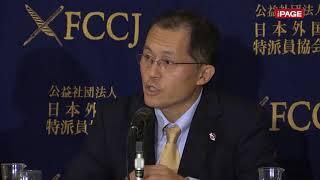 ノーベル平和賞の「ICAN」国際運営委員、川崎哲氏が会見(2017年10月11 日)