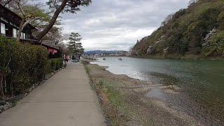 京都 嵐山・嵯峨野散策 亀山公園~竹林の小径~嵐電嵐山駅前~渡月橋 Arashiyama & Sagano stroll, Kyoto