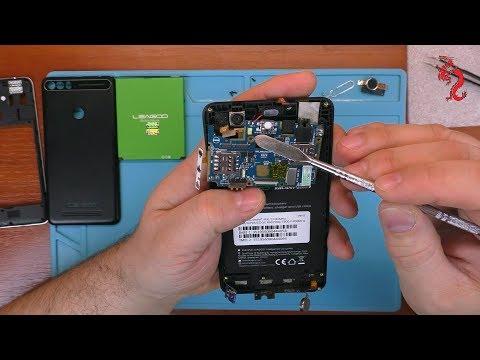 Leagoo KIICAA Power //РАЗБОР смартфона ОБЗОР изнутри