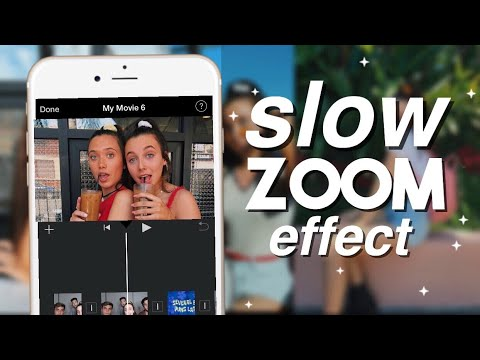 EMMA CHAMBERLAIN SLOW ZOOM IN EFFECT ON IPHONE (Updated)