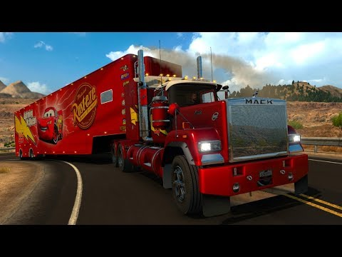 Mack Truck Superliner | Trailer Rayo McQueen