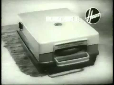 Vintage Hoover Portable Vacuum Cleaner TV Commercial