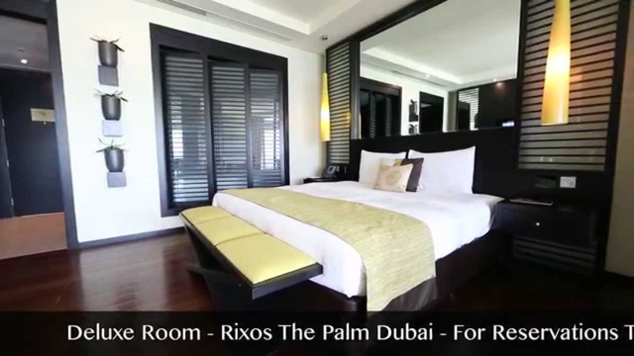 Rixos the palm dubai deluxe room youtube for Deluxe hotel in dubai