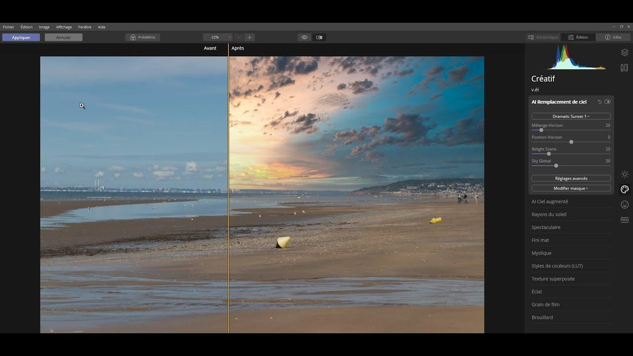 Ajouter Luninar 4 comme module de retouche (Filtres) dans Affinity Photo