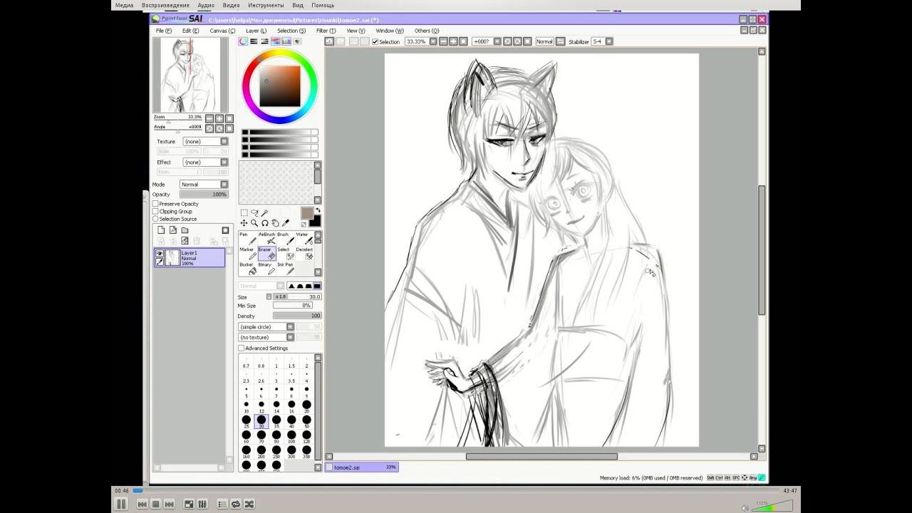 """Как рисовать Нанами и Томоэ из аниме """"Очень приятно, Бог ..."""