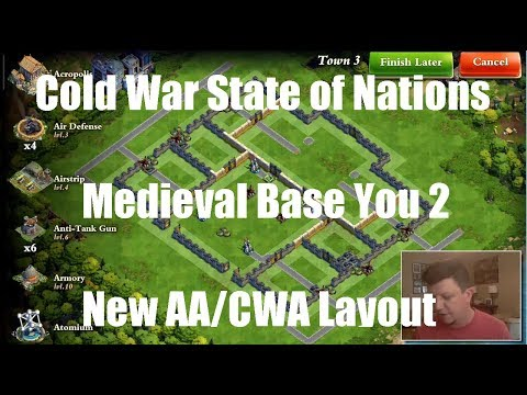 DomiNations - CWA State of Nations - War Bug - Medieval & AA/CWA Layout