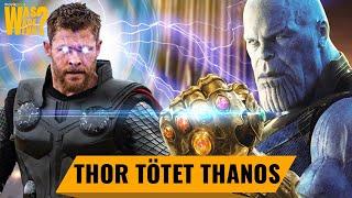 Avengers Infinity War: So hätte Thanos verloren!   Was wäre wenn ... ?