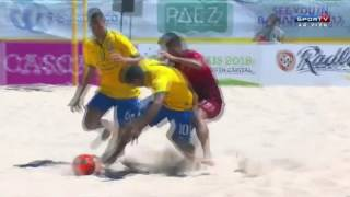 BeachSoccer - Brasil 6 x 4 Portugal Final Mundialito 2016