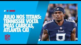 Julio Jones trocado para os Titans – panorama do que muda na troca