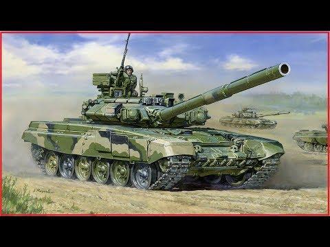 Покраска модели танка Т 90 / Звезда / 1:35 (Painting tank model T-90, Zvezda, 1:35)