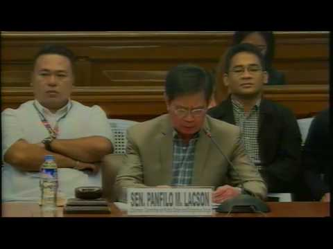 Committee on Public Order and Dangerous Drugs (November 23, 2016)