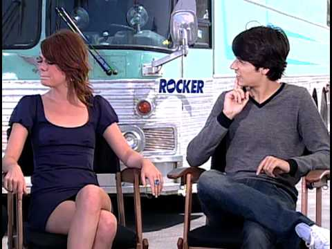 The Rocker - Exclusive: Emma Stone and Teddy Geiger