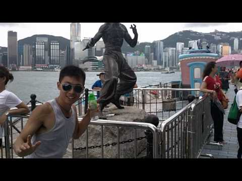 Day 4 Part 2: Avenue of Stars and HK Museum of Art - July 23, 2010