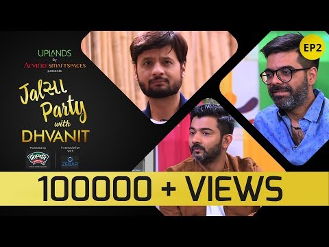 Jalsa Party With Dhvanit – Episode 2 : Sachin Jigar | Dhvanit Thaker