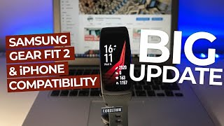 Samsung Gear Fit 2 with iPhone: BIG UPDATE [December 2017] compatibility