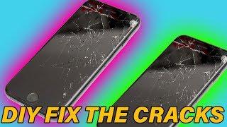 DIY Screen Crack Repair Fail?