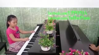 Lớp piano trẻ em Thủ Đức - Thùy Trang - Giờ ăn đến rồi [TT ÂN Upponia - Tự Học Piano.com]