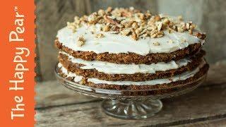 Ultimate Vegan Carrot Cake | THE HAPPY PEAR