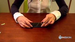 Установка защитного закаленного стекла Inskin Canada на iPhone 5(, 2014-10-14T14:53:10.000Z)
