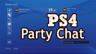 How to use Playstation 4 Party Chat, Tips and More (Create, Join, Invite)