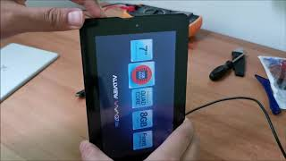 How to factory reset a tablet without the volume buttons