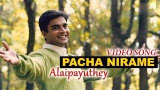 Video Pacha Nirame Video Song | Alaipayuthey Malayalam | Madhavan | Shalini | A R Rahman | Mani Ratnam download MP3, 3GP, MP4, WEBM, AVI, FLV November 2018