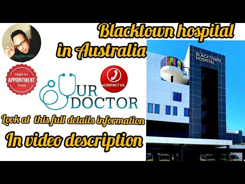 Blacktown Hospital New Emergency In Australia