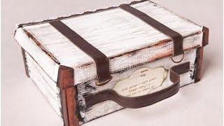 Чемодан своими руками. Декоративный чемодан своими руками - мастер класс.