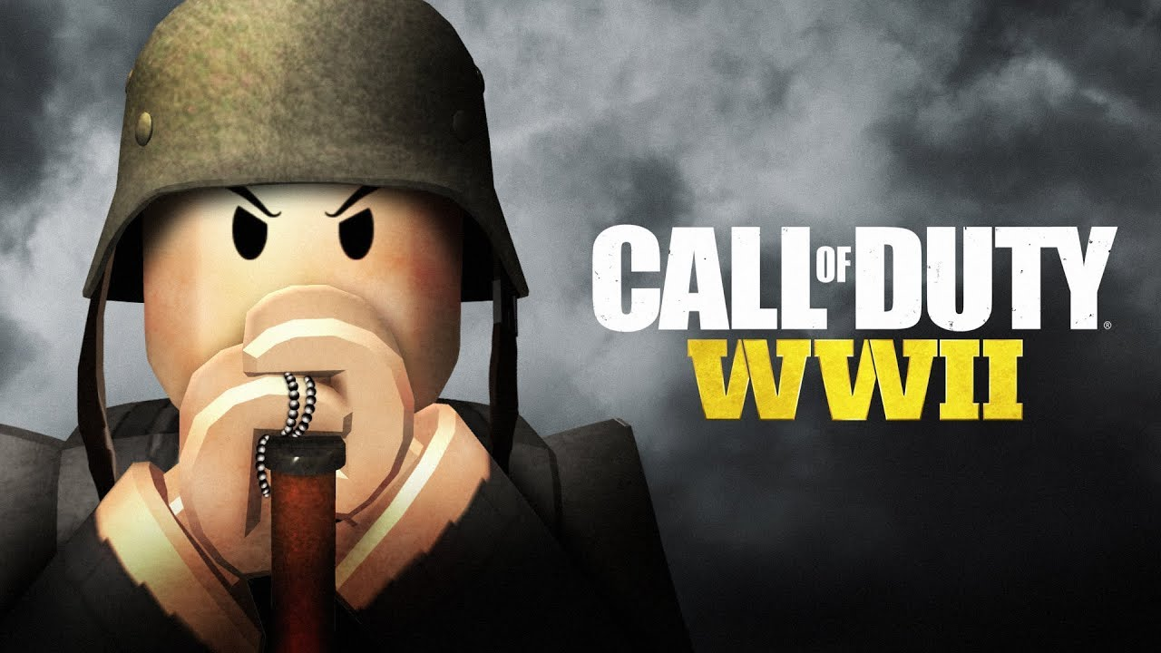 Call Of Duty Wwii In Roblox Youtube