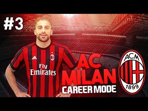 DEADLINE DAY! AC MILAN CAREER MODE #3 (FIFA 17)