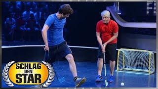 Spiel 6: Floorball - Schlag den Star