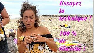 Enfiler son maillot a la plage !!! (une technique révolutionnaire)