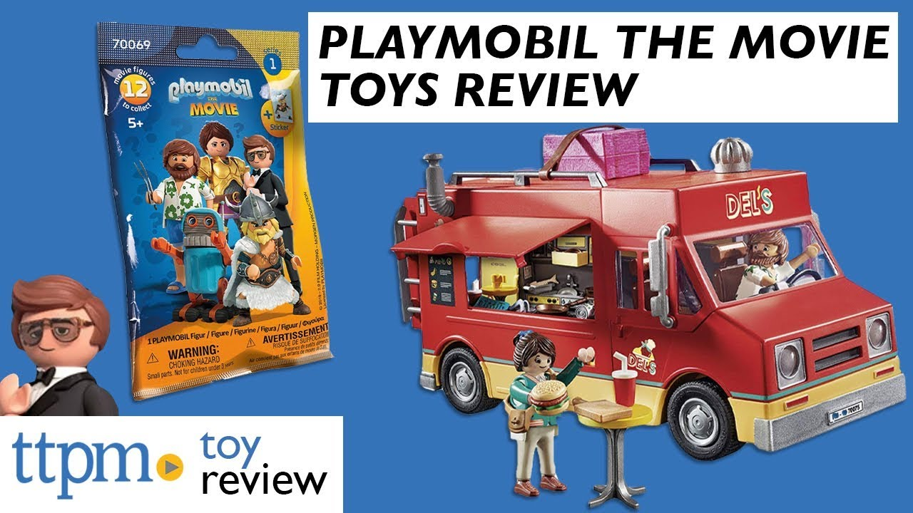 Playmobil: The Movie Toys from Playmobil - YouTube