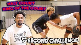 INTENSE Half Court 5-Second Challenge!!