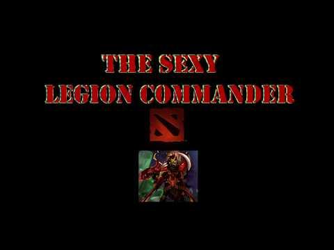 """""""Hi guys"""" from Lvl 22 Sexy Legion Commander (arcana + new set)"""