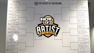 Hot 97 Presents The Artist Of The Decade!