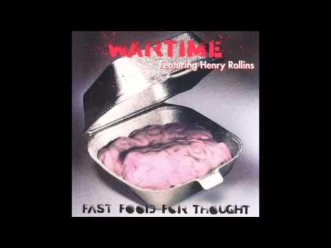 Wartime - Fast Food For Thought (Full) - 1990