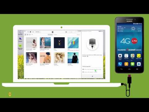 Android : How to Put Local Music on Huawei Ascend G620S ?