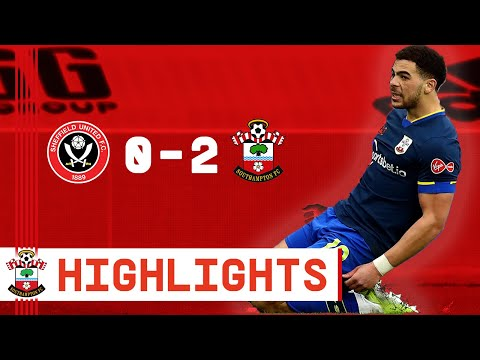90-SECOND HIGHLIGHTS: Sheffield United 0-2 Southampton | Premier League