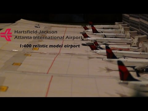 Gemini Jets 1:400 HUGE Atlanta airport update: December