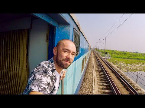 Mumbai to Jaipur 'First Class SuperFast' train. India vlog 2/3