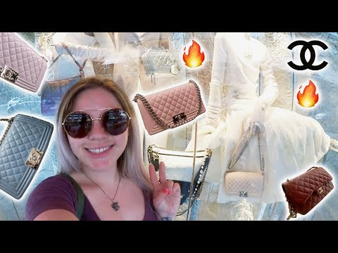 Chanel Luxury Shopping Vlog 17K & 17K2 Fall/Winter Collection 2017/18 Part1 Incredible Colors!