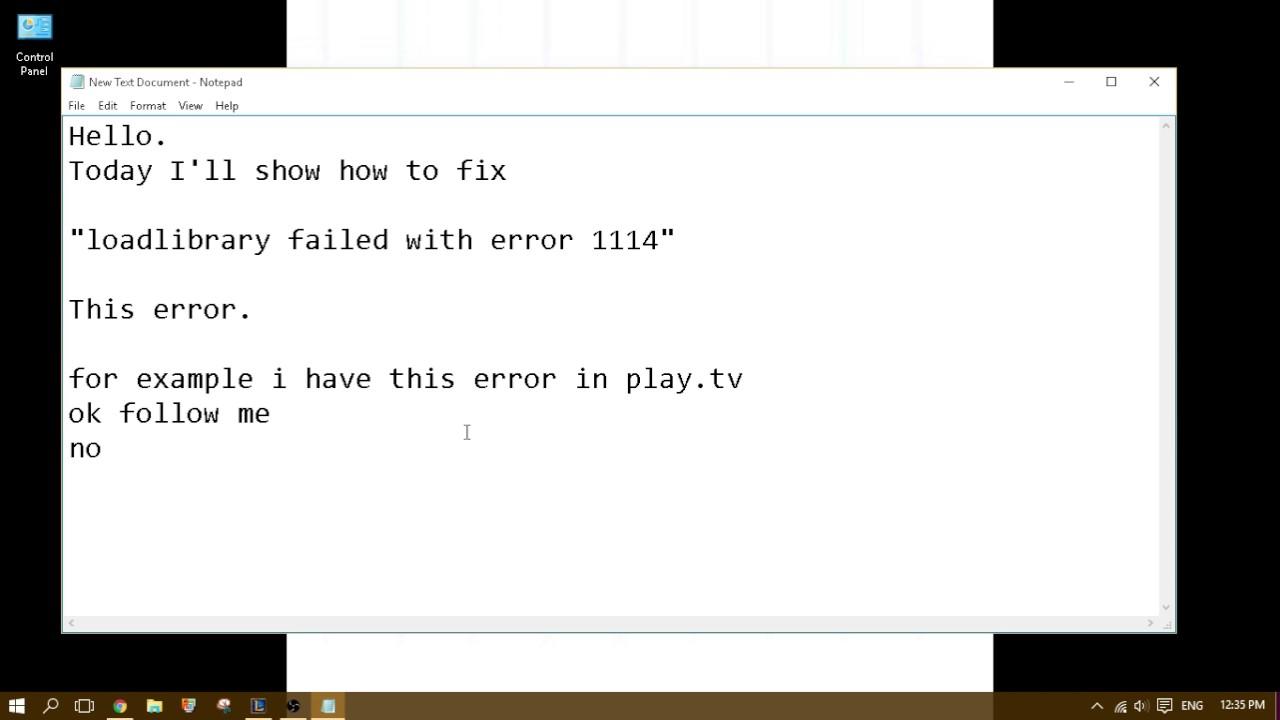 Fix Loadlibrary Failed Error 126 Windows – Desenhos Para Colorir