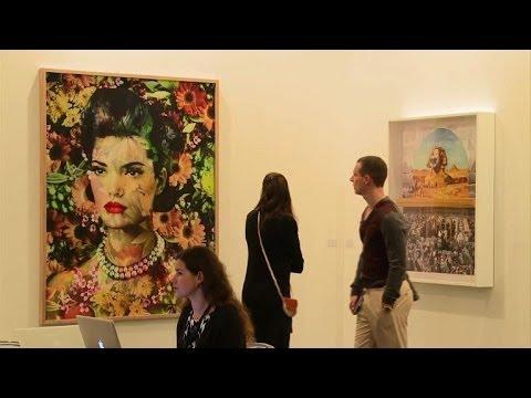 Media given tour of Art Dubai