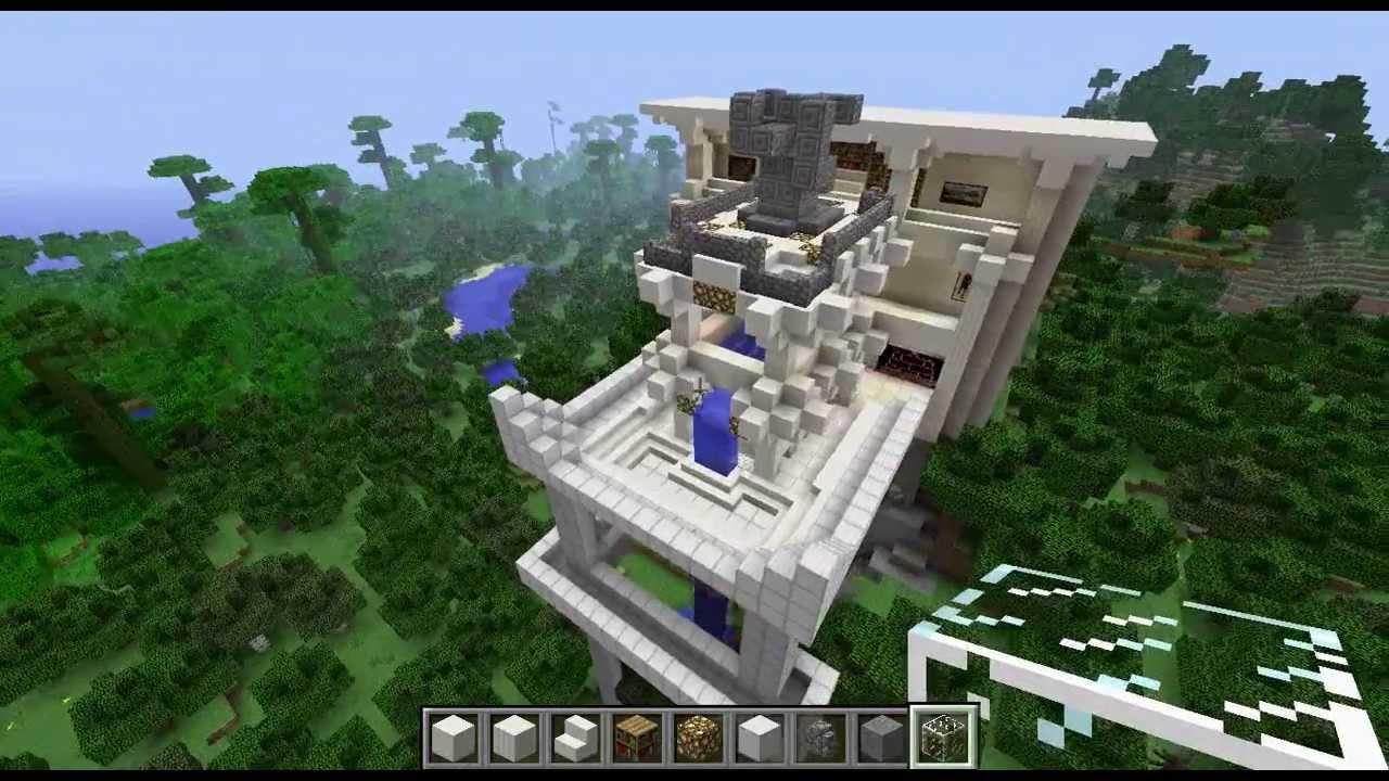 Minecraft Marble Building YouTube - Minecraft moderne hauser lekoopa