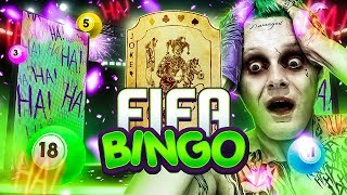 OMFG THE JOKER CARD IN FIFA BINGO!!! Massive FIFA 19 Pack Opening!!!!
