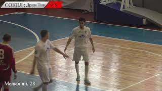Чемпионат Липецкой области по мини футболу Сокол Дрим Тим 10 5 Обзор матча