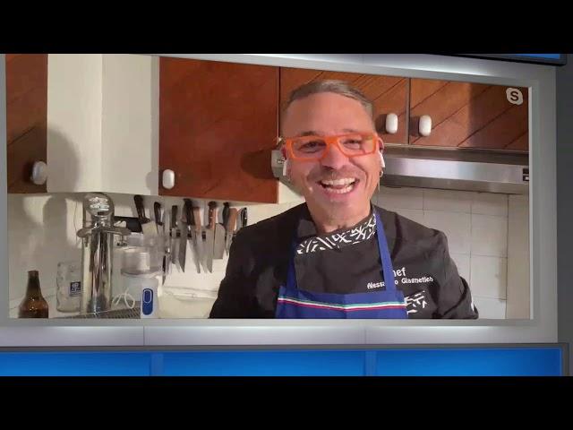 In diretta con Sonia la cucina dello chef Alessandro Giagnetich